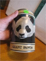 Vtg Budweiser Endangered Species Giant Panda Stein