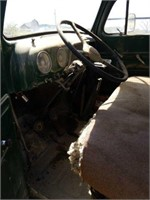 1952 ford dump truck, has title, F6 six cylinder,