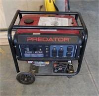 New Predator 7000watt generator. It has electric
