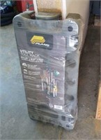 Plano yard tool rack