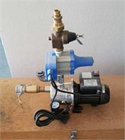 Burke automatic pump with hoses