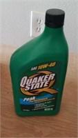 9 quarts 10-w40, 2 quarts of ATF