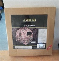 Ambush wigwam hunting blind