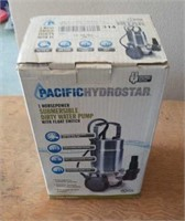 1 hp submersible dirty water pump