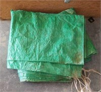 8 Assorted tarps