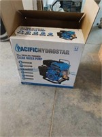 New 79cc gas powered water pump