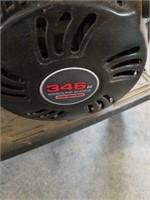 "New predator 346cc side shaft gas engine. 1"""