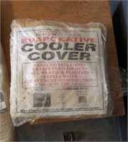 Evaporative cooler covers. Welding blankets