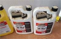 4 gallons of bug killer and a sprayer