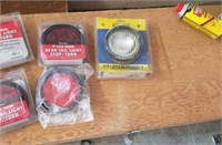Led taillights,  halogen light