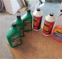 Automotive items and bug spray