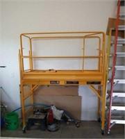 Haul master heavy duty scaffold