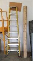 Keller 375# capacity 8' step ladder