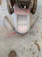 Craftsman weed trimmer it has compression we