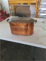 Nice copper boiler