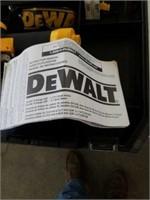 New Dewalt pneumatic brad nailer