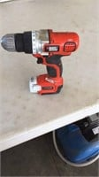 """18volt 1/4"""" drill Master impact driver and a 12"""