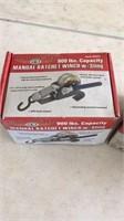 2  900 lbs capacity haul master manual ratchet