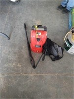 Black and decker electric pressure washer.