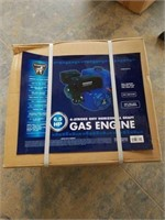 4 stroke ohv horizontal shaft gas engine. 6.5 hp.