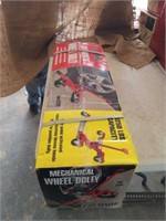U.S. General mechanical wheel dolly. 1250 lbs