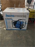 212cc gas powered Pacific hydrostar clear water