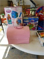 Miscellaneous toys, cars child chair