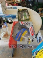 Miscellaneous kids toys, puzzles and chairs