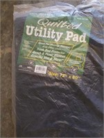 4 miscellaneous quilted utility pads.
