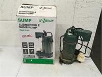 Zoeller Submersible Sump Pump Used