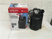 Utilitech Submersible Utility Pump