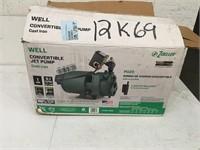 Zoeller Cast Iron Convertible Jet Pump