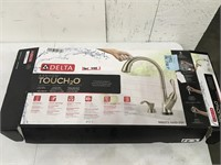 Delta Touch2O Ashton Pull down faucet Open Box