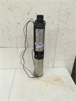"""Zoeller 1/2HP 4"""" Submersible Well Pump Used"""