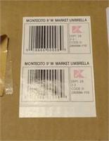 Martha Stewart Montecito 9'W Market Umbrella
