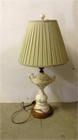 Porcelain Lamp with Shade