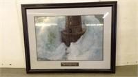 Framed Pictures & 2 Boards