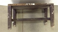 Small Wooden Work Bench Stool