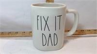 Rae Dunn FIX IT DAD Mug
