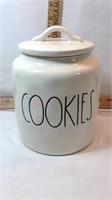Rae Dunn COOKIES Cookie Jar