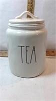 Rae Dunn TEA Tea Jar Cannister