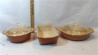 Vintage Fire King Casserole Dishes