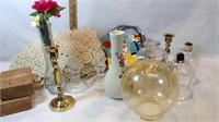 Candle Holders, Globes and More