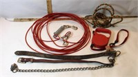 Dog Tie Out, Steering Wheel, 3 Plug Cord & More