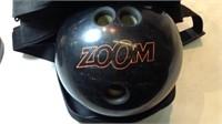 Ebonite Bowling Ball & Case