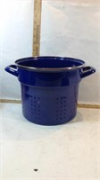 Enamelware Stock Steamer Pot with Lid