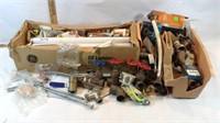 Dozen Light Bulbs, Plumbing Supplies, Solder &