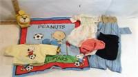 Teddy Ruxpin, Sock Monkey, Peanuts Blanket & More