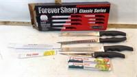 Kitchen Utensils, Forever Sharp Knives, Cutting