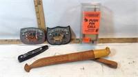 Martini Fishing Knife, Gun Case, Sharpening Kit &